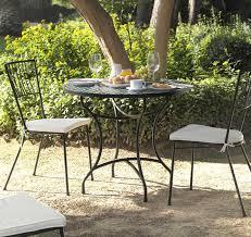 chaises fer forg chaise fer forgé jardin terracota 4136