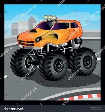 monster trucks clipart clipart bigfoot monster truck cartoon collection s and mr coloring