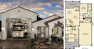 house plan with rv parking home act