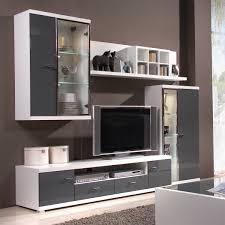 Wohnzimmerschrank Neu Wohnwand Hochglanz Weiß Grau Wohnzimmer Weis Herrlich Weia Eiche
