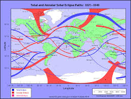 Mexico Map 1821 by Eclipsewise Solar Eclipses 1981 1990