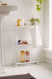 Bathroom Storage Carts Bathroom Rolling Storage Cart My Web Value