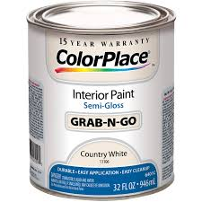 colorplace cp country white flat interior paint qt walmart com