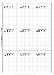 basic long division worksheets worksheets