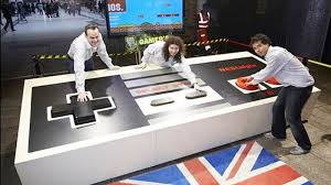 world u0027s largest video game controller unveiled in london the verge