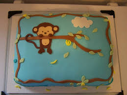 monkey baby shower cake pop monkey baby shower cake cakecentral