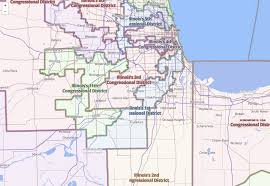 Illinois Congressional District Map by Support Science
