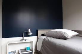 chambre peinture 2 couleurs chambre peinture 2 couleurs 5 t234te de lit bleu nuit galerie avec