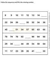 urbrainy com great worksheets numeracy pinterest