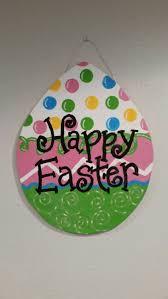 painted easter egg door hanger easter egg door hanger door