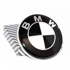 black and white bmw logo bmw emblem logo 74mm 2 9 inch black white badge for