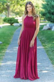 burgundy bridesmaid dresses adeline bridesmaid dress in burgundy with lace back filly flair