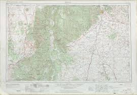 Colorado New Mexico Map by Raton Topographic Maps Nm Usgs Topo Quad 36104a1 At 1 250 000 Scale