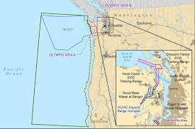 Olympic National Park Map Kilmer Questions Navy On Olympics Testing Training North Coast News