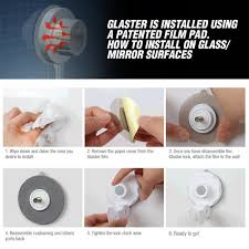 no drill no hole wall mounted suction cup toothbrush holder