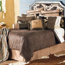 Cowboy Bed Set Western Bedding Size Caldwell Cowhide Bed Set Lone