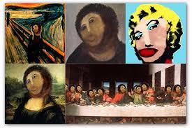 Potato Jesus Meme - worst art restoration spawns new online meme articles crisis