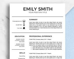 Two Page Resume Sample by Modern Resume Template Two Page Resume Resume Template