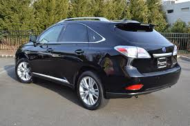 lexus car black 2012 lexus rx450h hybrid pre owned