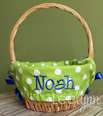 personalized easter basket 69 best images about easter on personalized easter