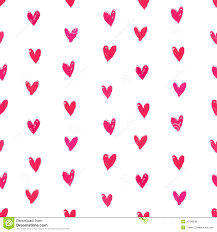 heart wrapping paper velentine s day pattern with painted hearts royalty free