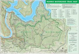 Raccoon Creek State Park Map by Norris Watershed Map
