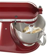 Kitchenaid Artisan Mixer by See How Nice And Roomy The Bowl Is With This Cinnamon Colored