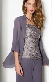 dressy pant suits for weddings 2016 three purple of the chiffon pant suits