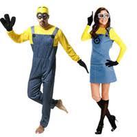 Minion Halloween Costume Adults Wholesale Halloween Costumes Minion Buy Cheap Halloween