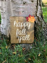 Family Wood Sign Home Decor Happy Fall Y U0027allfall Decorhome Decorpallet Signfall