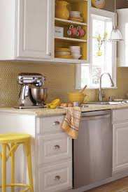 yellow kitchen backsplash ideas 28 creative tiles ideas for kitchens digsdigs
