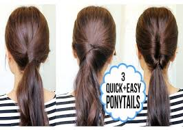 hair tutorials for medium hair easy ponytail hairstyle tutorials hair styles library hair