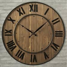 wall clocks decorative digital wall clock remote control large