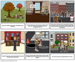 great depression storyboard storyboard by lf23