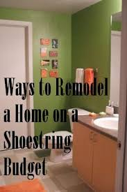Design My Home On A Budget How To Remodel A Home On A Shoestring Budget Dengarden