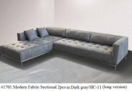 Tufted Sofa Sectional Modern Tufted Sectional Foter