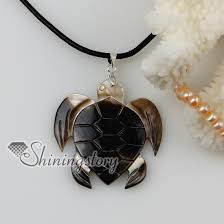 leather necklace pendants images Sea turtle patchwork sea water shell mother of pearl pendants jpg