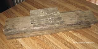 Pallet Of Laminate Flooring Homespun Happenings Boxes Made From Pallet Wood