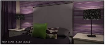 purple and green bedroom face the fear purple and green anita brown 3d visualisation