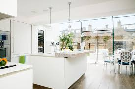 new family kitchen extension in a 1960s house real homes
