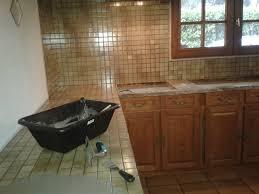 peinture pour plan de travail de cuisine depuis lundi chantier béton cire sur un ancien plan de travail