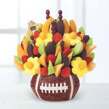 incredibly edible delights sports themed fruit arrangements bouquets edible arrangements