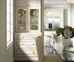Dining Room Cabinets In Painted Maple Homecrest - Dining room cabinets