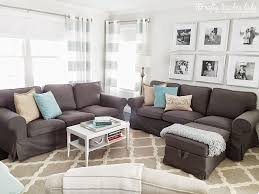 living room ikea living room ideas with white leather sofa and