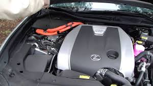 lexus gs 450h battery pack lexus gs 450 hybrid motor area check oil and washer fluid add