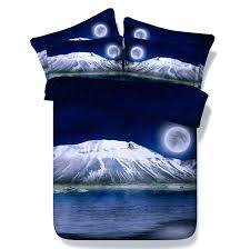 Stars Duvet Cover Moon And Stars Bedding Comforter Sets Queen Size Sea Duvet Cover