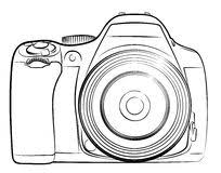 professional camera stock vector image 54472258