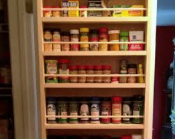 Old Fashioned Spice Rack Wall Spice Rack Etsy
