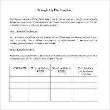 strategic action plan template u2013 8 free word excel pdf format