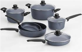 induction cookware set 10 pcs from woll cookware diamond coated